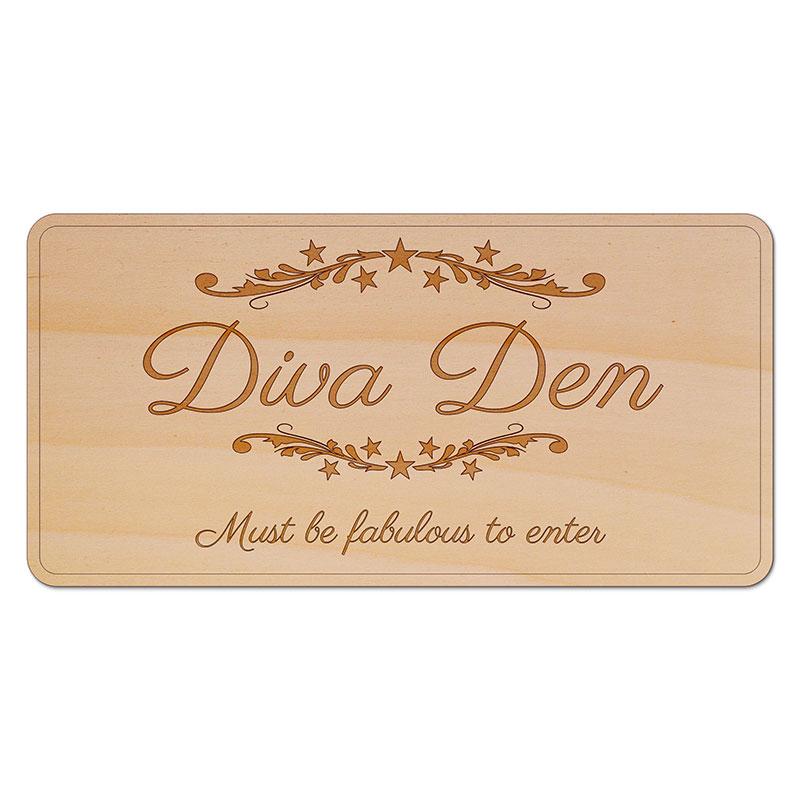 Diva Den Sign Flickering Firefly